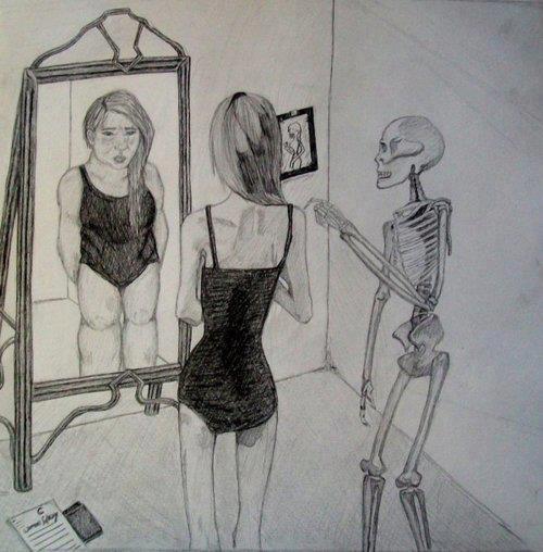 Жената в огледалото