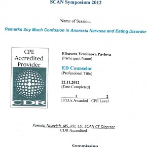 Anoreksia & ED Participation