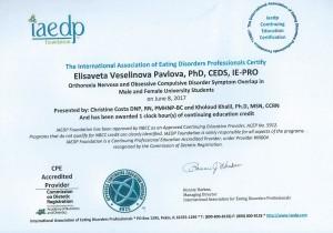 Orthorexia Webinar_1 CE IAEDP